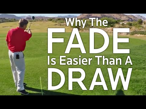Golf Shot:  Why The Fade Is Easier Than A Draw