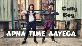 Apna Time Aayega | Gully Boy | Hiphop Dance Choreography by Nisha Neupane & Rajeev Sharma