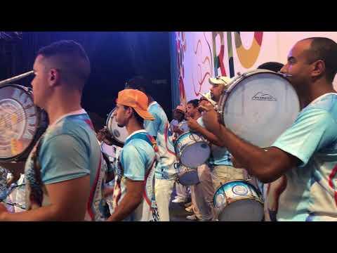 Vila Isabel 2018: gravação da bateria no CD do Grupo Especial - Carnaval 2018