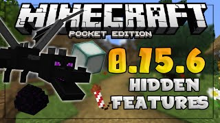 top hidden features in mcpe 0 15 6 ender dragon secret items minecraft pe pocket edition