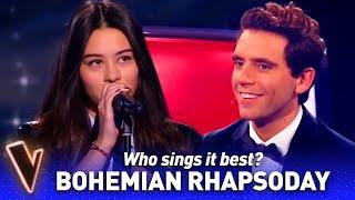 Amazing BOHEMIAN RHAPSODY covers in The Voice | Who sings it best? #16