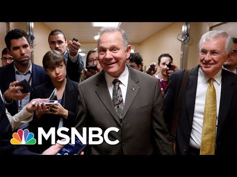 Alabama GOP Politicians Sticking By Roy Moore Despite Allegations | MSNBC