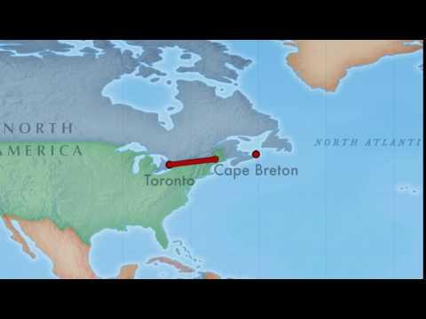 Toronto to Cape Breton