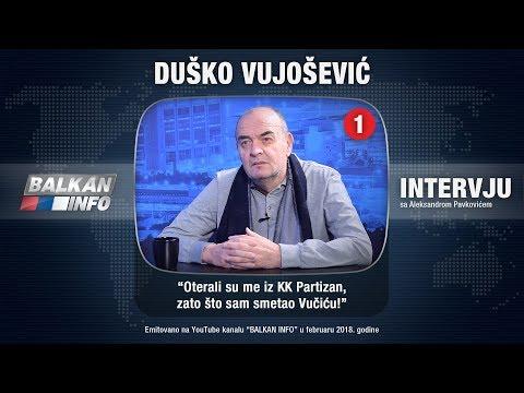 INTERVJU: Duško Vujošević - Oterali su me iz KK Partizan, zato što sam smetao Vučiću! (19.02.2018)