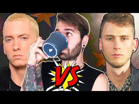 who won the rap battle!?!? (eminem or machine gun kelly)
