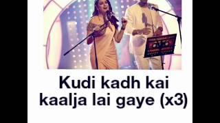 GALLA GORIYAN - AAJA SONIYE ( lyrics ) | Kanika Kapoor, Mika Singh | Baa Baaa Black Sheep