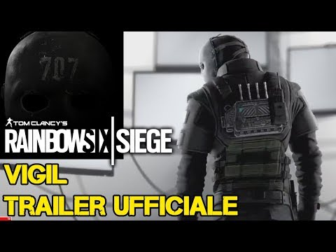 VIGIL TRAILER UFFICIALE - RAINBOW SIX SIEGE WHITE NOISE