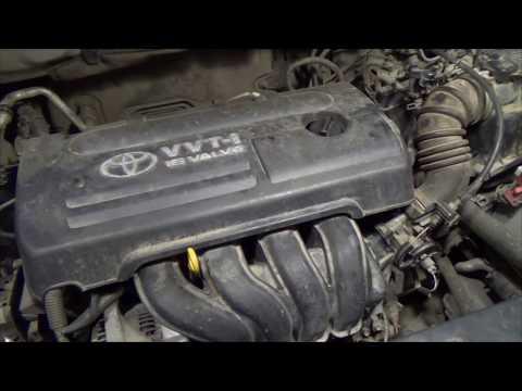 Вибрация мотора Тойота Королла 120