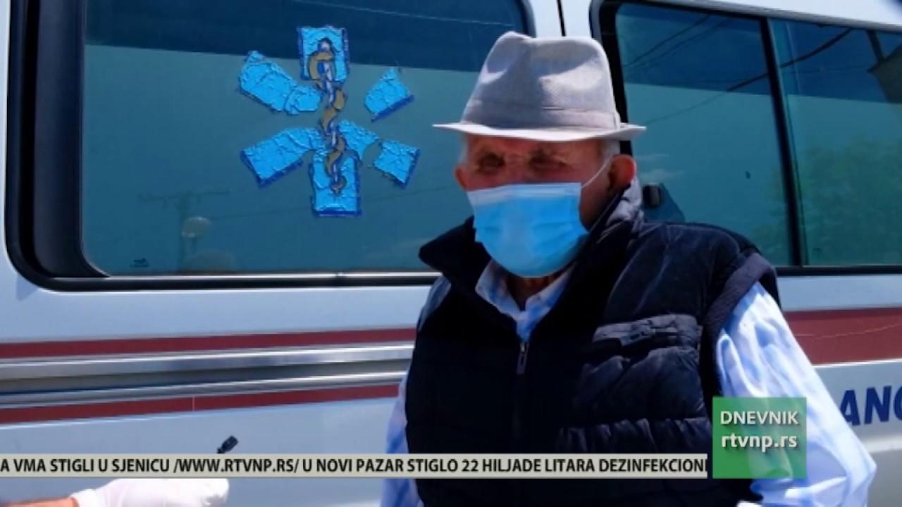 Osamdesetosmogodisnji Feran Ćatović iz Tutina pobedio Covid-19 ...