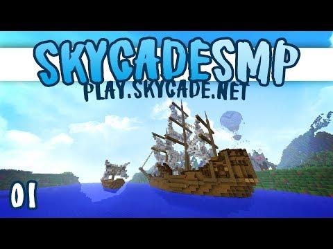A PUBLIC SMP SERVER?! 😱 | 01 | Skycade SMP | Minecraft 1.12 Server