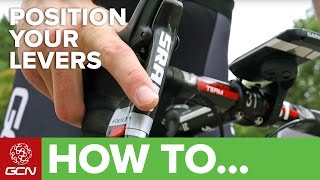 How To Adjust The Reach Of Your Brake Levers – GCN