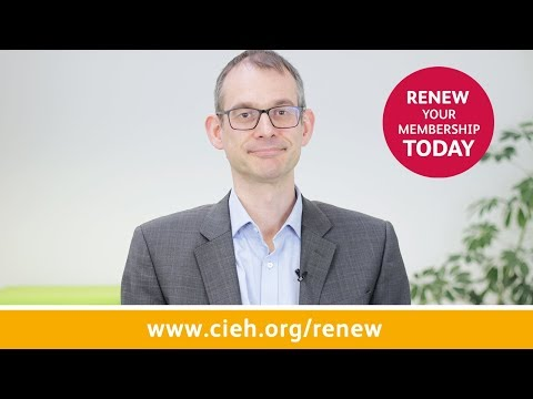 CIEH: Renew your membership today!