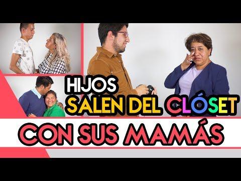 Hijos SALEN DEL CLOSET con sus mamás - Las 2 versiones