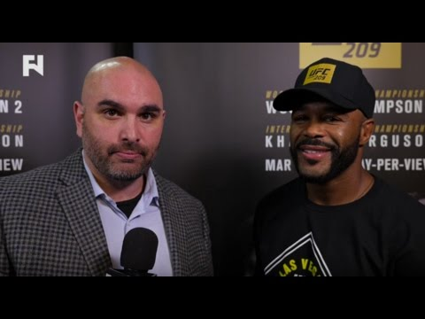 UFC 209: Rashad Evans on Making It Down to Middleweight - Interview with John Ramdeen