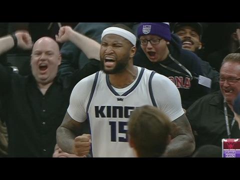 Dwyane Wade Game Winner! DeMarcus Cousins Ejected! Bulls vs Kings