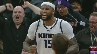 Dwyane Wade Game Winner! DeMarcus Cousins Ejected! Bulls vs Kings
