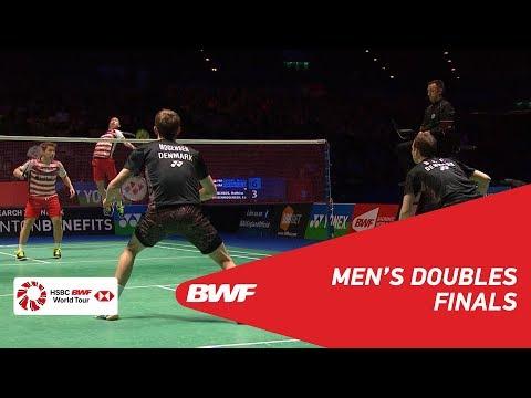 MD | GIDEON/SUKAMULJO (INA) [1] vs BOE/MOGENSEN (DEN) [2] | BWF 2018