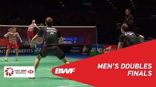 Video MD | GIDEON/SUKAMULJO (INA) [1] vs BOE/MOGENSEN (DEN) [2] | BWF 2018 download MP3, 3GP, MP4, WEBM, AVI, FLV Desember 2018
