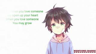 Nightcore - Love Someone - LUKAS GRAHAM