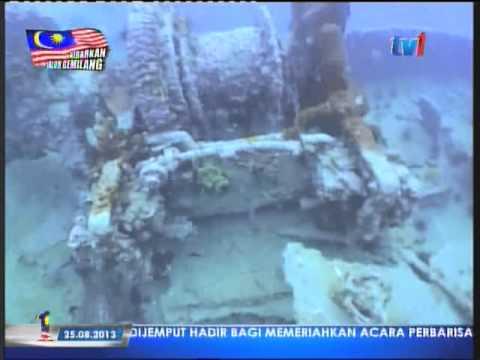 Kuching WW2 Wreck Dive (TV1 Xplorasi)