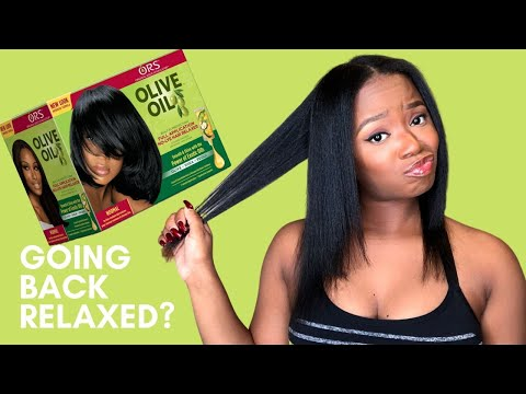 I'm Thinking About Going Back To Relaxers!