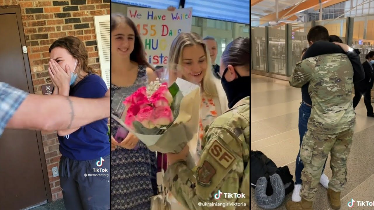 Military Coming Home Tiktok Compilation| Most Emotional Compilations #69