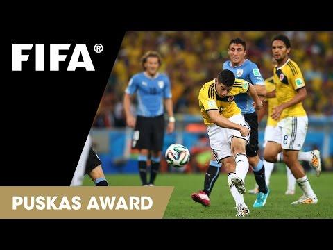 FINALIST: James Rodriguez Goal: FIFA Puskas Award 2014 Nominee