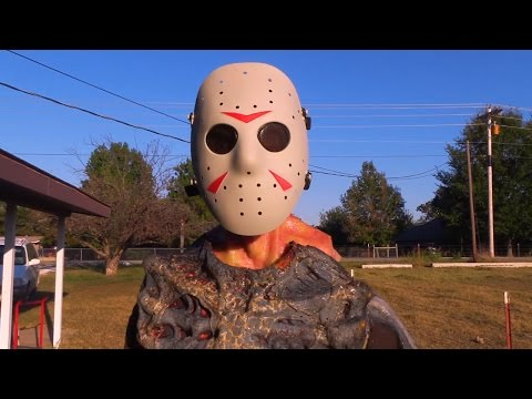 Top 4 Friday the 13th Kills in Real Life! Jason Voorhees  Halloween Monster Mash!