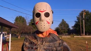 Top 4 Friday the 13th Kills in Real Life! Jason Voorhees - Halloween Monster Mash!