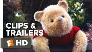 Christopher Robin ALL Trailers + Movie Clips (2018) | Fandango Family