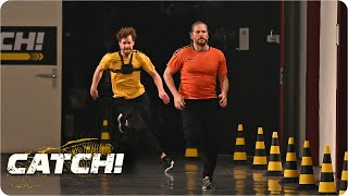 Luke legt sensationellen Lauf hin | Match 5: Office Run |CATCH! Die Deutsche Meisterschaft im Fangen
