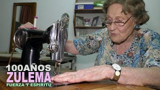 Zulema... La Abuela de los 100 Años Que Vive Sola y Trabaja...