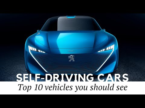 Top 10 Self-Driving Electric Cars and Autonomous Vehicles Coming in 2020-2050