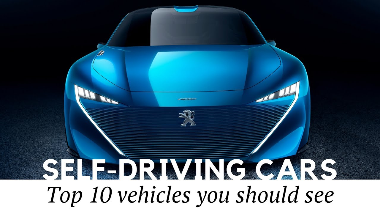 Top 10 Self-Driving Electric Cars and Autonomous Vehicles Coming in