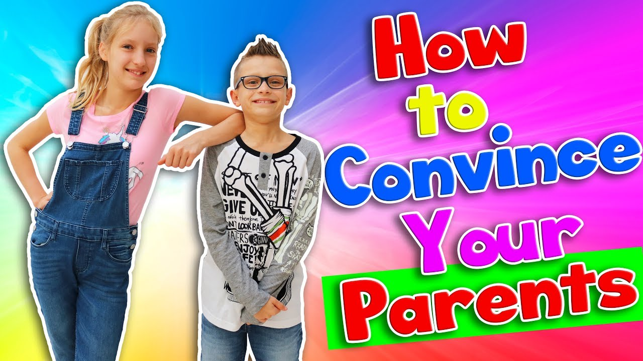 how to persuade your parents essay Communicate with your parents tell them well in advance of your birthday that you would love a cell phone, and how you would use it if you have a specific model in mind, let them know, and tell them why you chose that one.