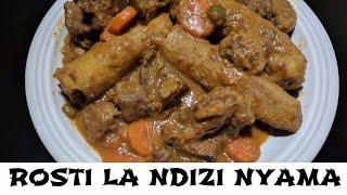 Rosti la Ndizi Nyama