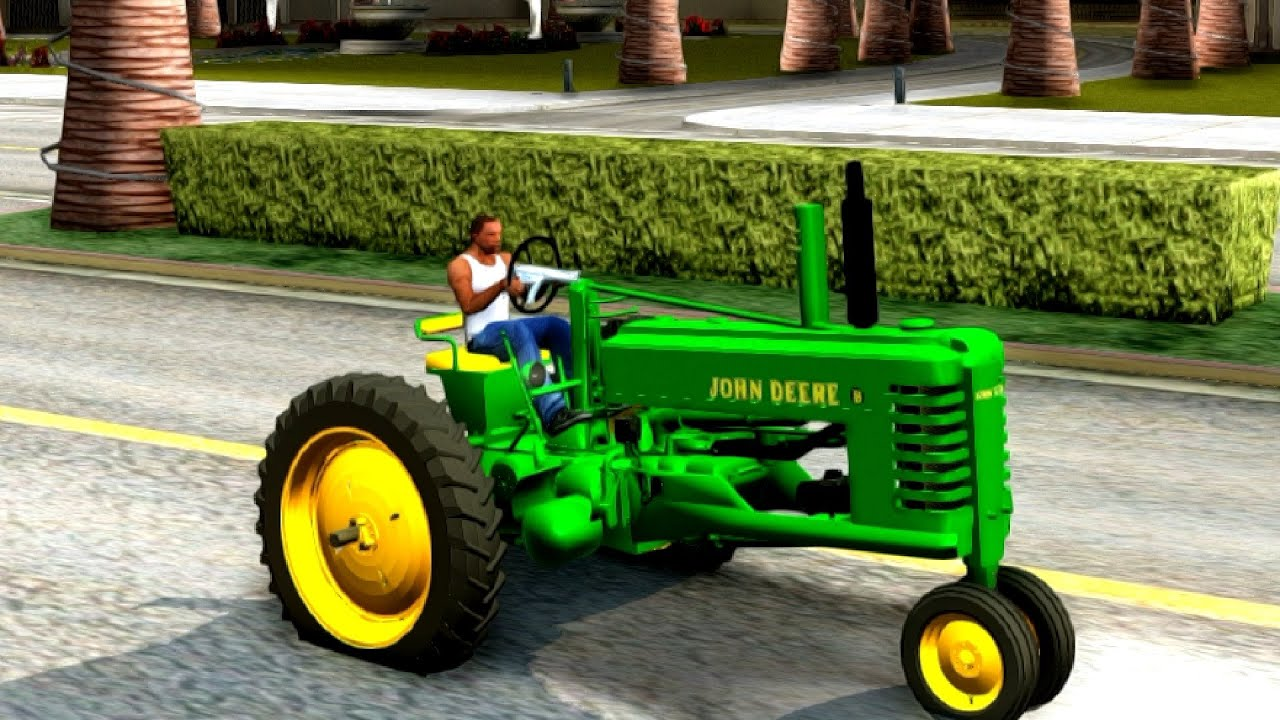 John Deere B 151 New Cars Vehicles To Gta San Andreas Enb