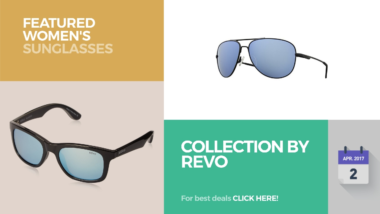 2191c2447a Collection By Revo Featured Women s Sunglasses - YouTube