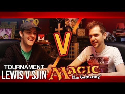 Magic: The Gathering Tournament - Lewis v Sjin