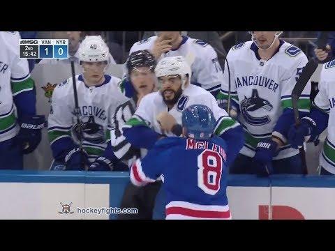 Darren Archibald vs Cody McLeod Nov 12, 2018