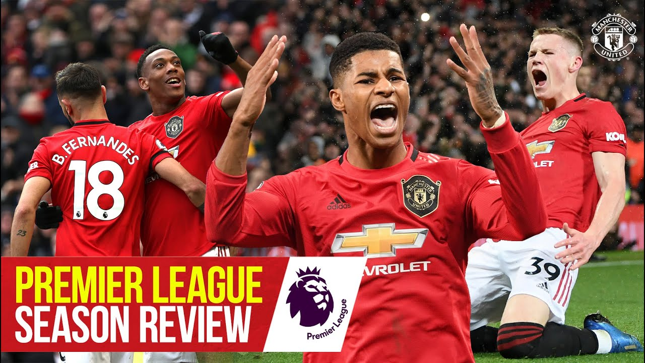 Premier League Review | Manchester United 2019/20 | All the Goals