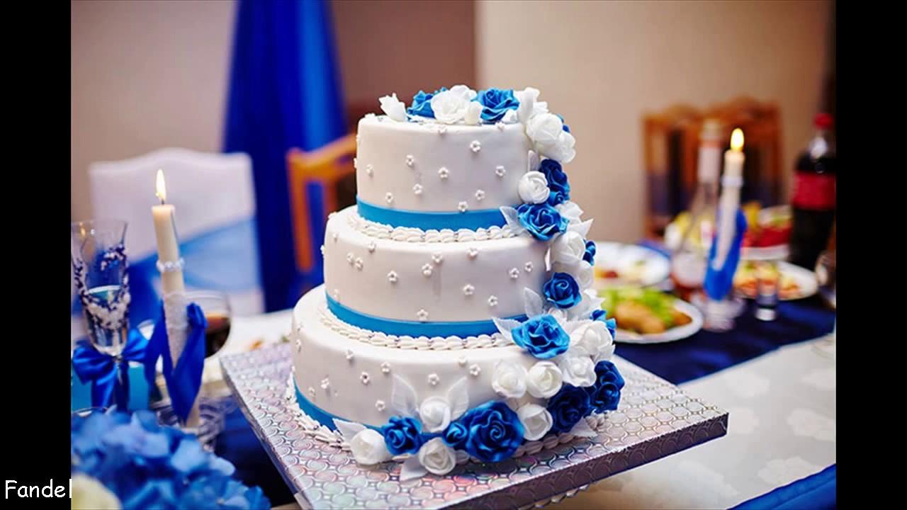 Royal Blue Wedding Decorations Youtube