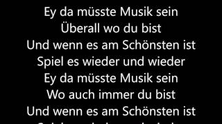 Wincent Weiss - Musik sein (Lyrics)