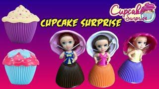 Cupcake Surprise 💗 Unboxing Mainan Anak Cupcake Surprise Disney Toys + Drama Anak Seru Banget !!!!
