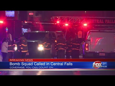 Man detained after making bomb threat in Central Falls