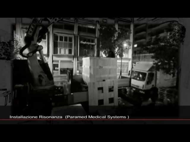 INSTALLAZIONE RISONAZA MAGNETICA Cappellino & Cappellino Radiologia Palermo