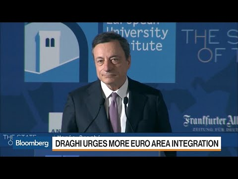 Draghi Presses for Euro-Area Fund as Crisis Buffer