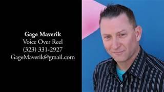 Voice Over Reel: Gage Maverik
