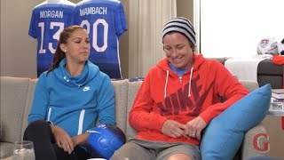 The 'B S  Report' With Abby Wambach And Alex Morgan