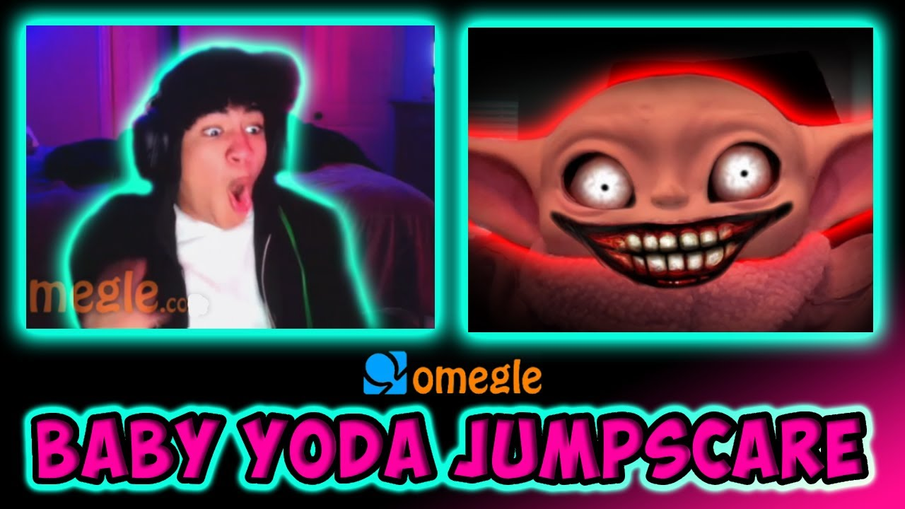 Baby Yoda JUMPSCARE on OMEGLE!